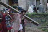 Jesus Carrying The Cross — Stock Photo