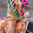 Stock Photo: Cowboy Using Lasso