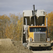 Stock Photo: Offloading At Gravel Pit