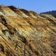 Foto Stock: Copper Mine Tailings, Quebec, Canada