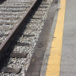 Stock Photo: Railway Platform And Track