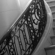 Stock Photo: Staircase In Ritzy Hotel