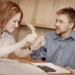 Couple Having A Disagreement — Stock Photo #31622917