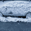 A Frozen Car — Stock Photo