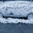 Stockfoto: Frozen Car