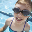 Stock Photo: Child Wears Goggles