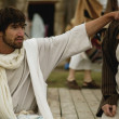 Jesus Gives A Man Direction — Stock Photo