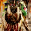 A Native Dancer — Stock Photo