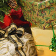 Gifts At Christmas — Photo