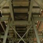 Under A Bridge — Stock Photo