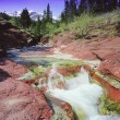 A Beautiful Waterfall, Alberta, Canada — Stock Photo