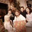 Stock Photo: Christmas Morning