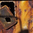 Stock Photo: Rusting Metal