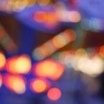 Blurred Fairground Like Lights — Stock Photo
