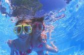 水中の楽しみ — ストック写真