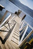 Lake Pier — Stock Photo