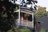 Exterior Sun Porch — Stock Photo
