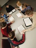 Young People's Bible Study And Prayer — Foto Stock