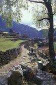 Rural Landscape In Mountainous Region — Stock Photo