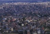 Overcrowded City — Stock Photo