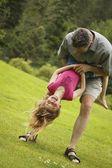 Ojciec i córka — Zdjęcie stockowe