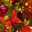Closeup Of Christmas Ornaments — Stockfoto #31678507