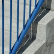 Stock Photo: Closeup Of Stairs And Railing