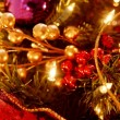 Closeup Of Christmas Decorations — Stock Photo