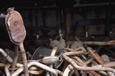 Heap Of Used Mufflers — Stock Photo