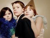 Children Playing Dress-Up — Stockfoto
