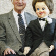 Stock Photo: Ventriloquist With Puppet