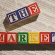 The Market — Stock Photo