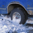 Stock Photo: Truck Stuck In Ice