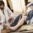 Jesus Washes Feet — Stock Photo #31681491