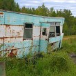 Abandoned Trailer — Stock Photo