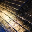 Stock Photo: Wet Road And Grid