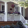 VerandOf House Displaying Potted Garden — Foto de stock #31682005