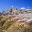 Stock Photo: Eroded Landscape, Badlands National Park