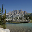 Scenic Bridge And Mountains — Stock Photo