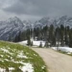 Mountain Road In Berchtesgaden — Stock Photo