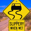 Stock Photo: Slippery When Wet