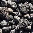 Stock Photo: Basalt LavRocks
