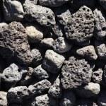 Basalt Lava Rocks — Stock Photo