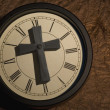 Religious Clock — Stock Photo