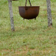 Stock Photo: Large Cooking Pot