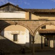 Стоковое фото: Courtyard In Patzcuaro Mexico