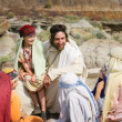 Jesus Spends Time With Children — Stock Photo #31686209