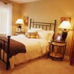 Bedroom Decor — Stock Photo
