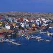 Stock Photo: Swedish Coastal Village