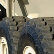 Stock Photo: Heavy Duty Tires